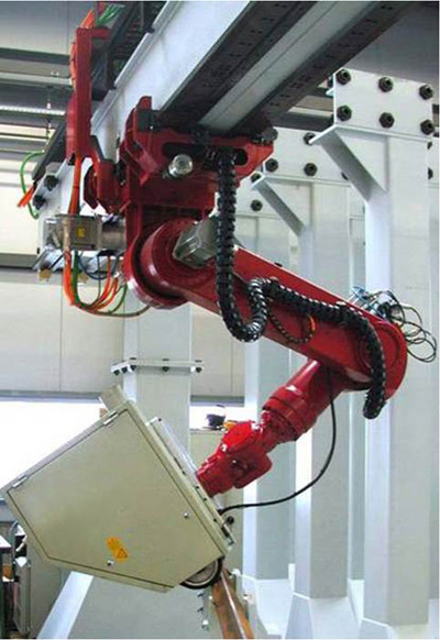 process cycle industrial robot